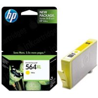 Hewlett Packard HP CB325WN (HP 564XL Yellow) InkJet Cartridge