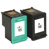 Hewlett Packard HP CB327FN (HP 95/98) Remanufactured InkJet Cartridge Combo Pack