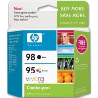 Hewlett Packard HP CB327FN (HP 95/98) InkJet Cartridge Combo Pack