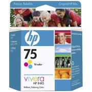 Hewlett Packard HP CB337WN (HP 75) InkJet Cartridge