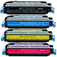 Hewlett Packard HP CB400A / CB401A / CB402A / CB403A Compatible Laser Toner Cartridges