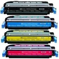 Compatible HP CB400A / CB401A / CB402A / CB403A Laser Toner Cartridge MultiPack