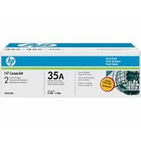 Hewlett Packard HP CB435AD (HP 35A) Laser Toner Cartridge Dual Pack