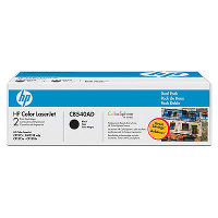 Hewlett Packard HP CB540AD Laser Toner Cartridge Dual Pack