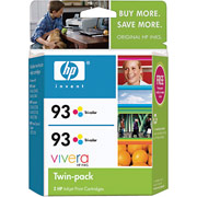 Hewlett Packard HP CC581FN ( HP 93 Twinpack ) InkJet Cartridge Twin Pack