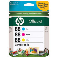 Hewlett Packard HP CC606FN (HP 88) InkJet Cartridge Combo Pack