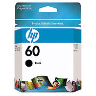 Hewlett Packard HP CC640WN (HP 60 Black) InkJet Cartridge