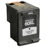Hewlett Packard HP CC641WN /HP 60XL Black Replacement InkJet Cartridge