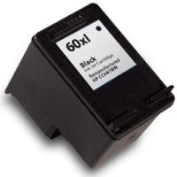 Hewlett Packard HP CC641WN (HP 60XL Black) Remanufactured InkJet Cartridge