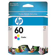 Hewlett Packard HP CC643WN (HP 60 Tri-color) InkJet Cartridge