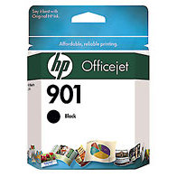 Hewlett Packard HP CC653AN ( HP 901 Black ) InkJet Cartridge