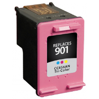 Hewlett Packard HP CC656AN / HP 901 Tri-color Replacement InkJet Cartridge