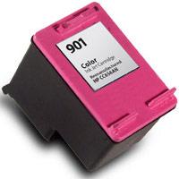 Hewlett Packard HP CC656AN (HP 901 Tri-color) Remanufactured InkJet Cartridge