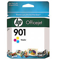 Hewlett Packard HP CC656AN (HP 901 Tri-color) InkJet Cartridge