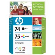 Hewlett Packard HP CC659FN (HP 74/75) InkJet Cartridges