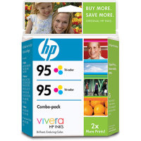 Hewlett Packard HP CD886FN (HP 95 Twinpack) InkJet Cartridge Twinpack