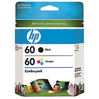 Hewlett Packard HP CD947FN (HP 60) InkJet Cartridge Combo Pack