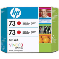 Hewlett Packard HP CD952A (HP 73 Red Twin Pack) InkJet Cartridge Twin Pack