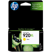 Hewlett Packard HP CD974AN (HP 920XL Yellow) InkJet Cartridge