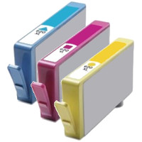 Hewlett Packard HP CD972AN / CD973AN / CD974AN (HP 920XL) Remanufactured InkJet Cartridge Set