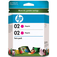 Hewlett Packard HP CD997FN (HP 02 magenta) InkJet Cartridge Twin Pack