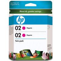HP 02 magenta OEM originales Cartucho de tinta