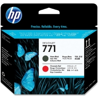 Hewlett Packard HP CE017A (HP 771 Matte Black/Red) InkJet Printhead