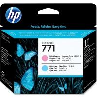 Hewlett Packard HP CE019A (HP 771 Light Magenta/Light Cyan) InkJet Printhead