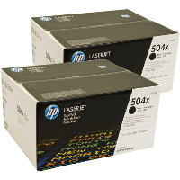 Hewlett Packard HP CE250XD Laser Toner Cartridge Twin Pack