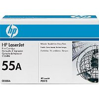 Hewlett Packard HP CE255A (HP 55A) Laser Toner Cartridge