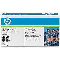 Hewlett Packard HP CE264X (HP 646X Black) Laser Toner Cartridge