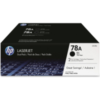 Hewlett Packard HP CE278D (HP 78A Twin Pack) Laser Toner Cartridges