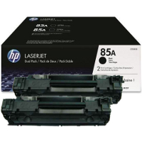 Hewlett Packard HP CE285D (HP 85A Twin Pack) Laser Toner Cartridges