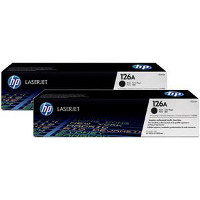 Hewlett Packard HP CE310AD (HP 126A Dual Pack) Laser Toner Cartridge Dual Pack