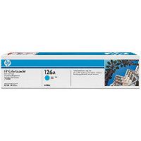 Hewlett Packard HP CE311A (HP 126A Cyan) Laser Toner Cartridge
