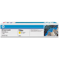 Hewlett Packard HP CE312A (HP 126A Yellow) Laser Toner Cartridge
