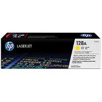 Hewlett Packard HP CE322A (HP 128A Yellow) Laser Toner Cartridge