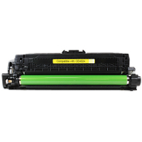 Hewlett Packard HP CE402A (HP 507A Yellow) Compatible Laser Toner Cartridge