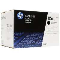 Hewlett Packard HP CE505XD (HP 05X) Laser Toner Cartridge Dual Pack