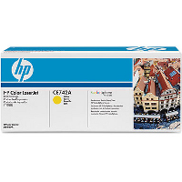 Hewlett Packard HP CR742A ( HP 307A Yellow ) Laser Toner Cartridge