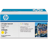 Hewlett Packard HP CF032A (HP 646A Yellow) Laser Toner Cartridge