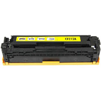 Hewlett Packard HP CF212A (HP 131A Yellow) Compatible Laser Toner Cartridge