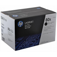 Hewlett Packard HP CF280XD (HP 80X) Laser Toner Cartridge Dual Pack
