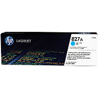 Hewlett Packard HP CF301A (HP 827A Cyan) Laser Toner Cartridge