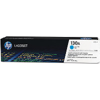 Hewlett Packard HP CF351A (HP 130A Cyan) Laser Toner Cartridge