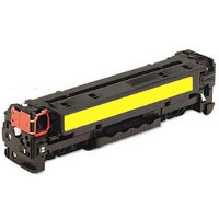 Compatible HP HP 312A Yellow (CF382A) Yellow Laser Toner Cartridge (Made in North America; TAA Compliant)