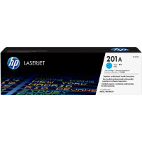 Hewlett Packard HP CF401A (HP 201A Cyan) Laser Toner Cartridge