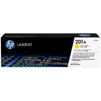 Hewlett Packard HP CF402A (HP 201A Yellow) Laser Toner Cartridge