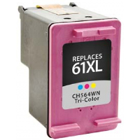 Remanufactured HP HP 61XL Color ( CH564WN ) Multicolor Inkjet Cartridge (Made in North America; TAA Compliant)
