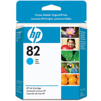 Hewlett Packard HP CH566A (HP 82 Cyan) InkJet Cartridge